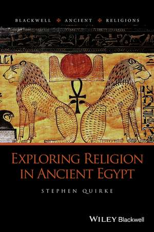 Exploring Religion in Ancient Egypt