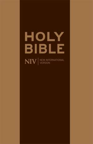 NIV Traveller's Soft-Tone Bible
