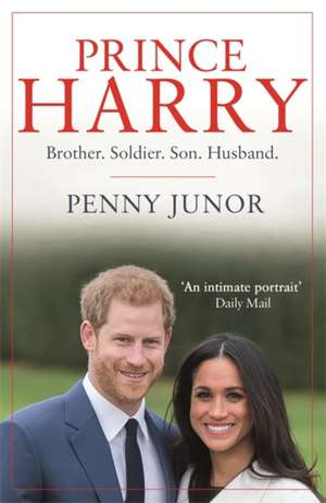 Junor, P: Prince Harry de Penny Junor