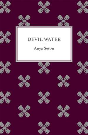 Devil Water de Anya Seton