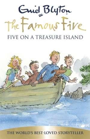 Five on a Treasure Island de Enid Blyton