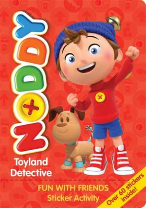 Noddy Toyland Detective Sticker Activity