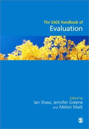 The SAGE Handbook of Evaluation imagine