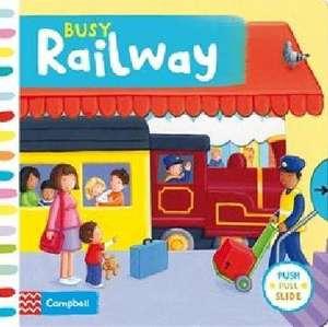 Busy Railway imagine