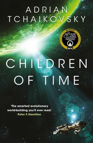 Children of Time de Adrian Tchaikovsky
