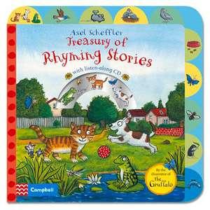 Axel Scheffler Treasury of Rhyming Stories: with CD de Axel Scheffler