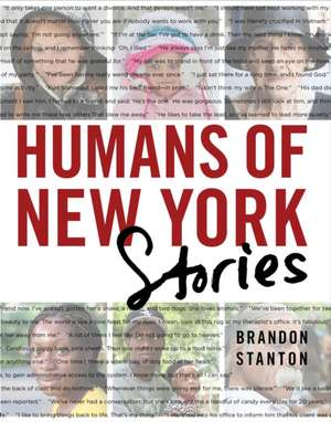 Humans of New York, Stories de Brandon Stanton