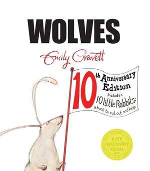 Wolves de Emily Gravett