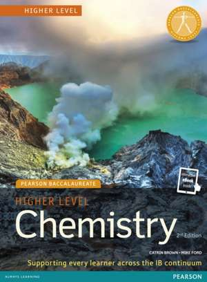 Higher Level Chemistry 2nd Edition Book + eBook