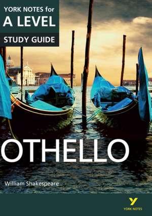 Warren, R: Othello: York Notes for A-level de Rebecca Warren