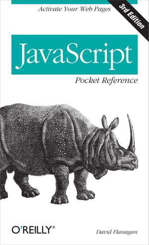 JavaScript Pocket Reference 3e