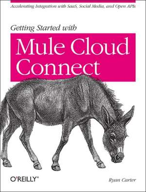 Getting Started with Mule Cloud Connect de Carter Carter