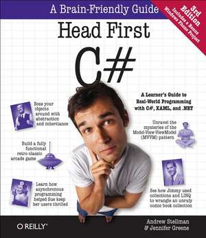 Head First C#, 3ed de Jennifer Greene
