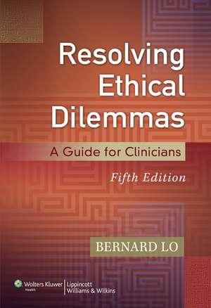Resolving Ethical Dilemmas