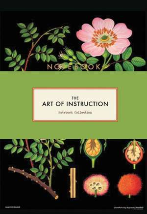 The Art of Instruction Notebook Collection de Chronicle Books