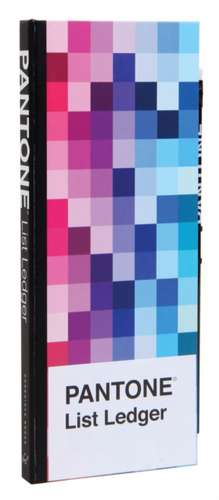 Pantone List Ledger de  Pantone LLC