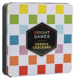 Bright Games Chess & Checkers imagine