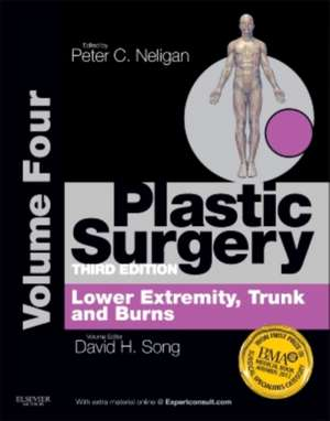 Plastic Surgery: Volume 4: Trunk and Lower Extremity de David H Song