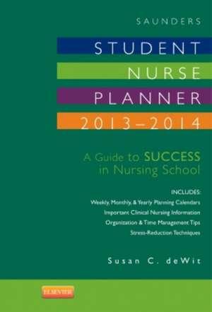 Saunders Student Nurse Planner, 2013-2014