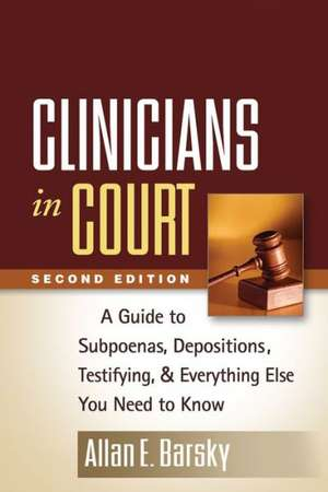 Clinicians in Court, Second Edition imagine