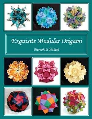 Exquisite Modular Origami de Meenakshi Mukerji