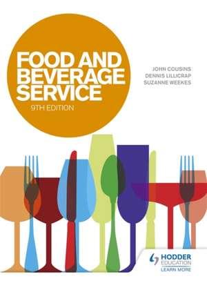 Food and Beverage Service de John Cousins