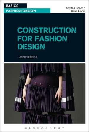 Construction for Fashion Design de Professor Anette Fischer