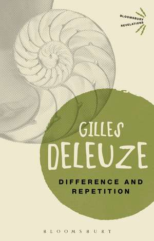 Difference and Repetition de Gilles Deleuze