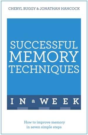 Successful Memory Techniques in a Week imagine