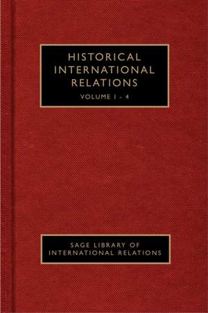 Historical International Relations de Halvard Leira