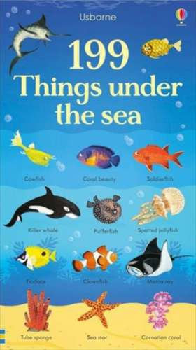 199 Things Under the Sea de JESSICA GREENWELL