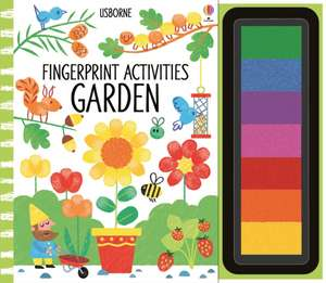 Fingerprint Activities Garden de Fiona Watt