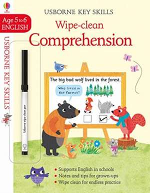 Wipe-Clean Comprehension 5-6 imagine