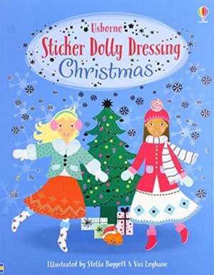 Sticker Dolly Dressing Christmas imagine