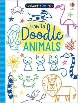 MINI BOOKS DOODLING ANIMALS imagine