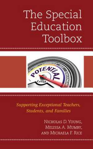 SPECIAL EDUCATION TOOLBOXSUPPCB de Michaela Rice