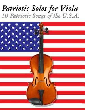 Patriotic Solos for Viola de Uncle Sam