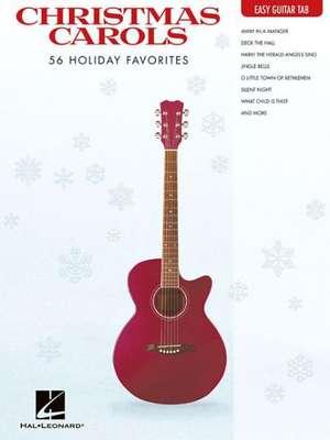 Christmas Carols: 56 Holiday Favorites de  Hal Leonard Publishing Corporation