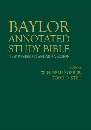 Baylor Annotated Study Bible de W. H. Bellinger