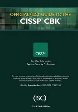 Official (ISC)2 Guide to the CISSP CBK imagine