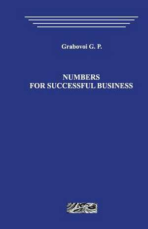 Numbers for Successful Business de Grigori Grabovoi