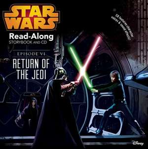 Star Wars: Return of the Jedi Read-Along Storybook and CD de Disney Book Group