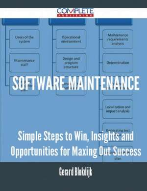 Software Maintenance - Simple Steps to Win, Insights and Opportunities for Maxing Out Success de Gerard Blokdijk