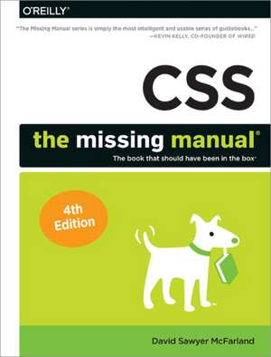 CSS – The Missing Manual, 4e