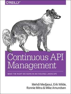 Continuous API Management de Mehdi Medjaoui