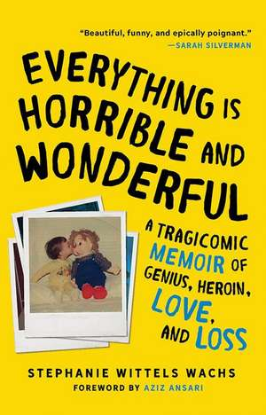 Everything Is Horrible and Wonderful: A Tragicomic Memoir of Genius, Heroin, Love and Loss de Stephanie Wittels Wachs