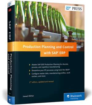 Production Planning and Control with SAP ERP de Jawad Akhtar
