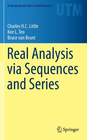 Real Analysis via Sequences and Series imagine