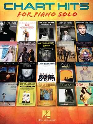 Chart Hits for Piano Solo de Hal Leonard Publishing Corporation