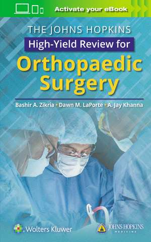 The Johns Hopkins High-Yield Review for Orthopaedic Surgery imagine